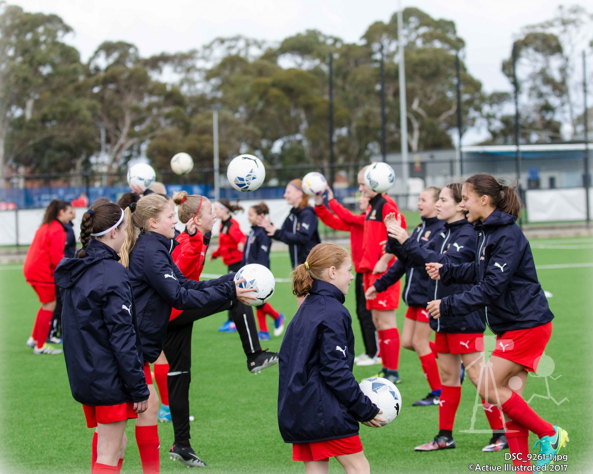 Game photos: FFSA U13 Girls v Fulham U17 Girls 28MAY17