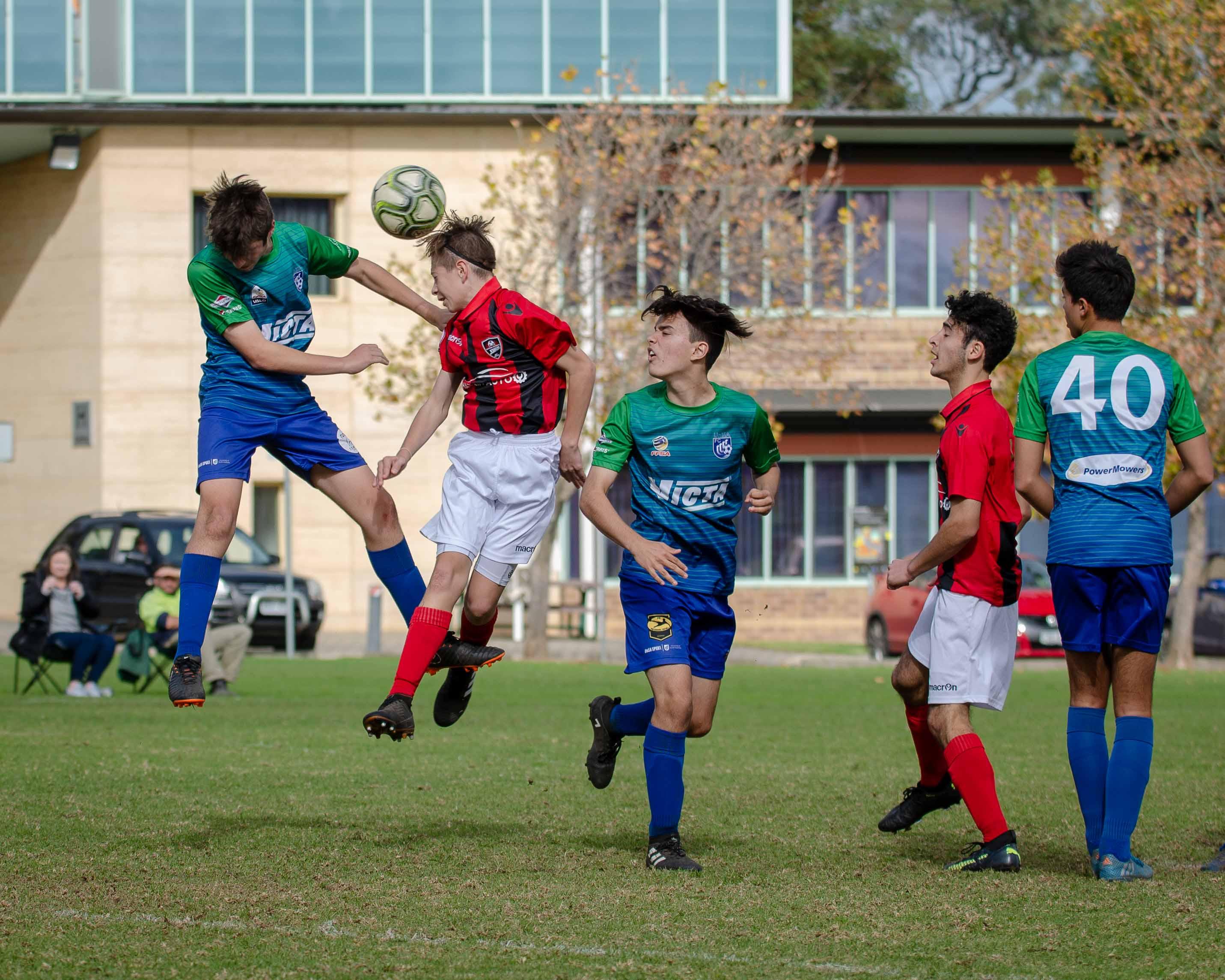 SL2 U18 UNISA v EUFC